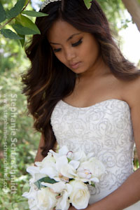 image-44223: bridal portrait Arri ( London / UK ) 2011