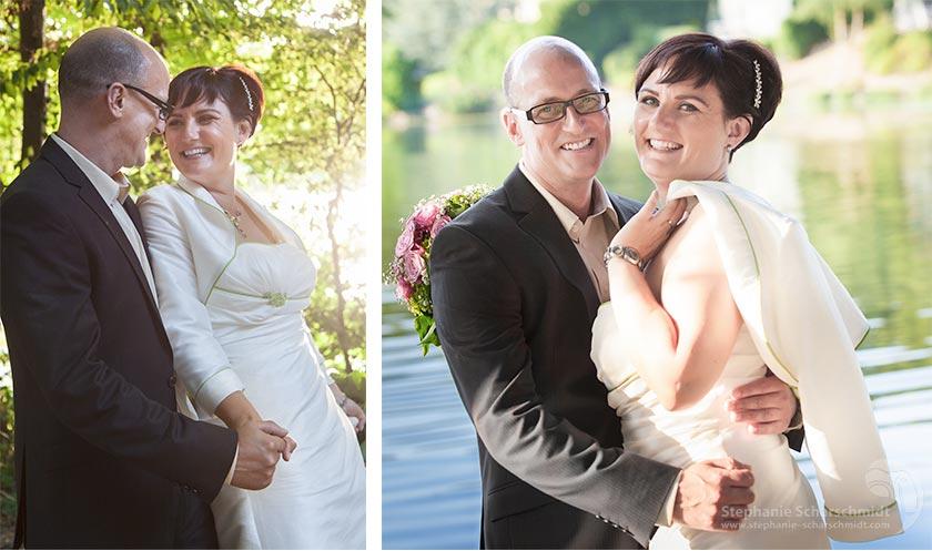 Hochzeitsfotos 66048-b + 65942-b: Ideen für die Brautpaarbilder + Spass bei den Hochzeitsfotos (Hariksee Niederkrüchten Kreis Viersen / NRW / Deutschland ) 16. August 2013