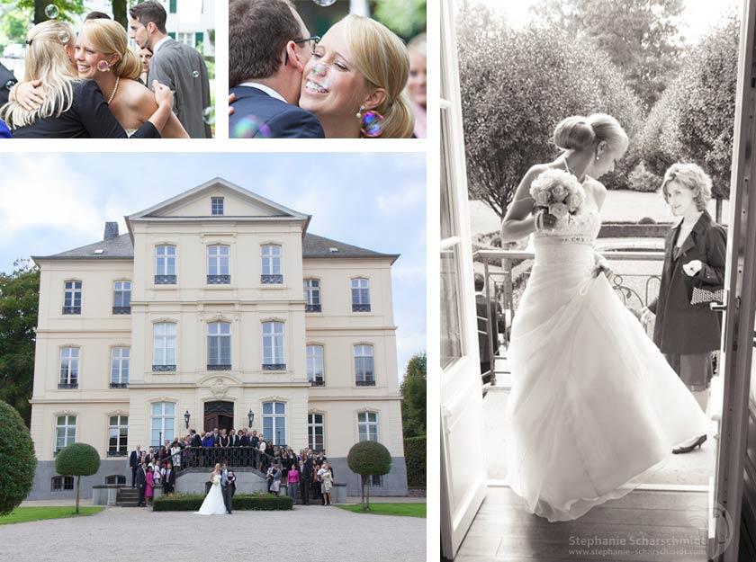 Hochzeitsfotos – heiraten im Schloss Leyenburg in Rheurdt / Neukirchen-Vluyn im Kreis Kleve